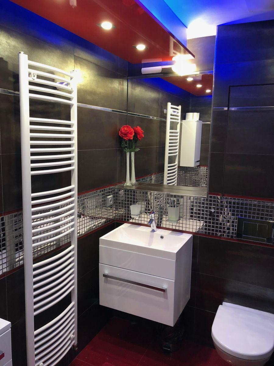Apartmán Špindlerův Mlýn - koupelna a WC