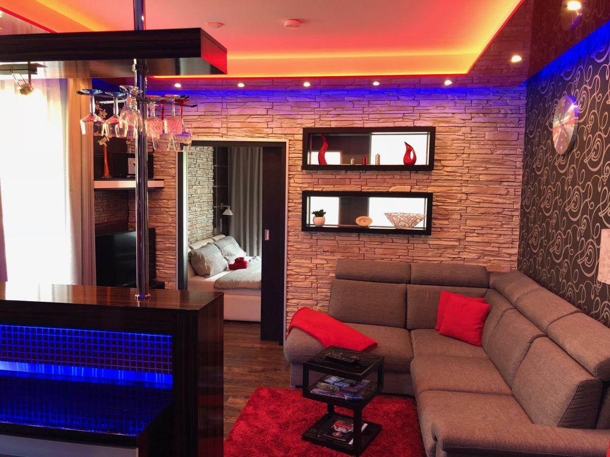 Apartmán Špindlerův Mlýn - obývací pokoj